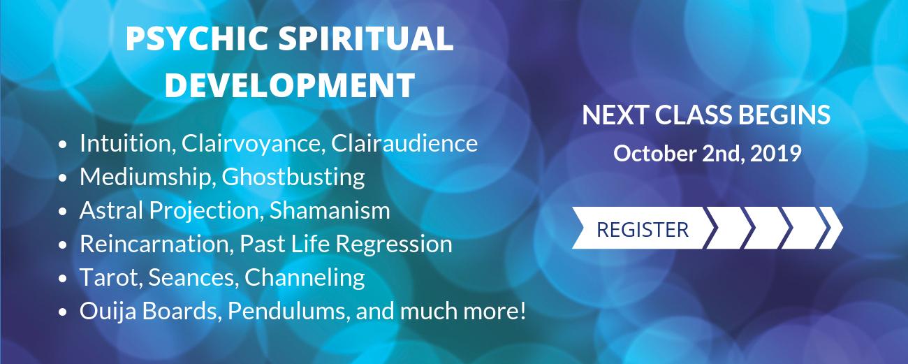 Psychic Spiritual Development