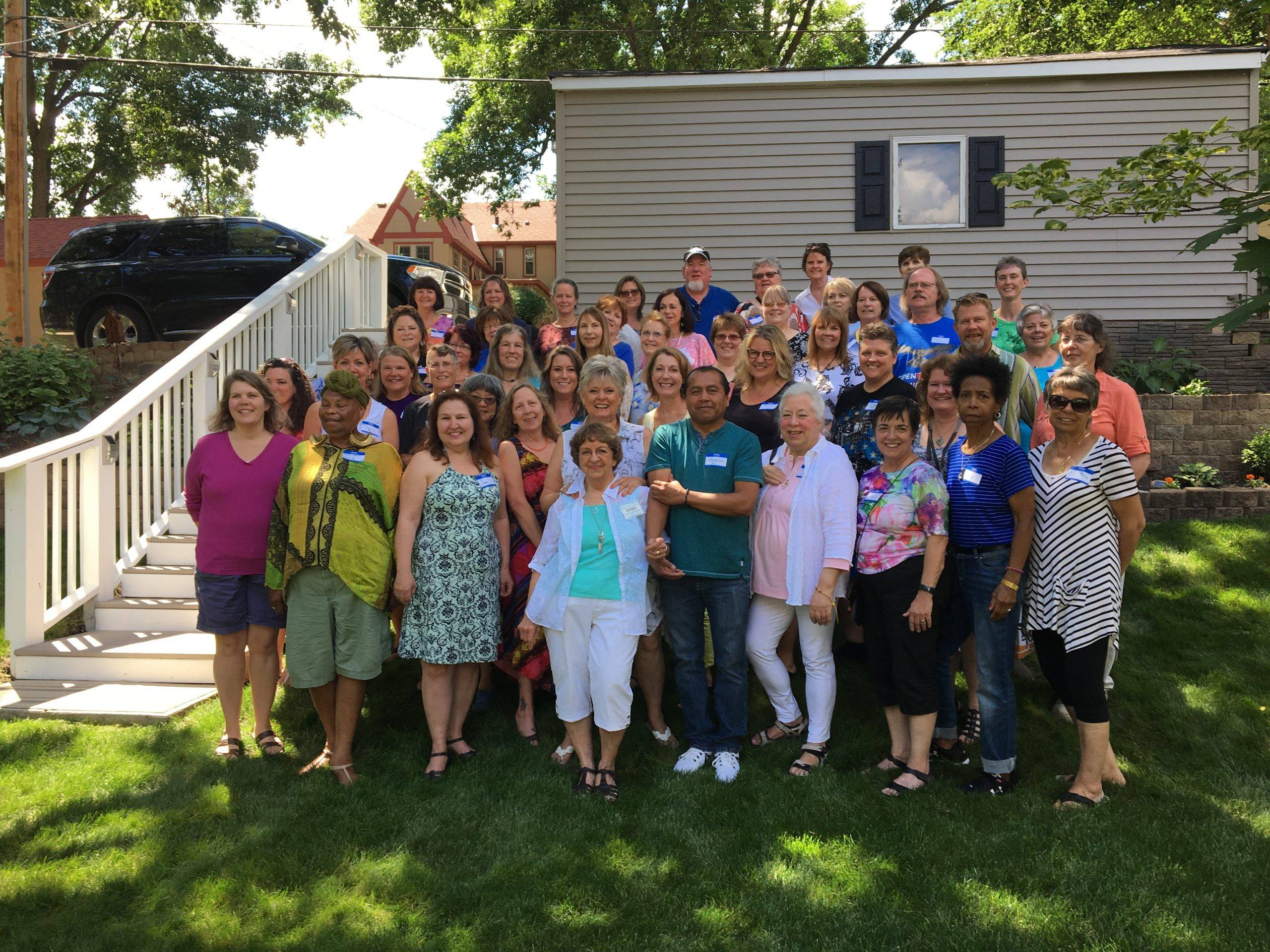 I have 140 healers in this program. Here is a photo of some of them that attended an HPP picnic in 2018.
